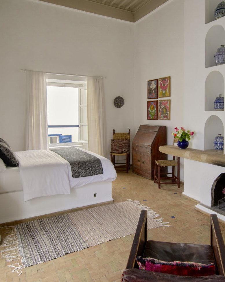 Double room riad hotel Essaouira Villa Maroc