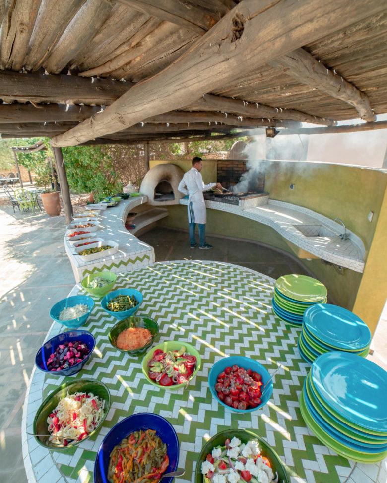 Restaurant les Jardins de Villa Maroc Essaouira