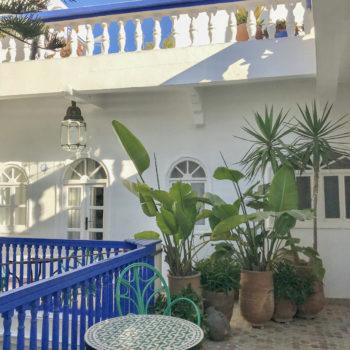 Suite room riad hotel Essaouira Villa Maroc